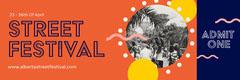 Orange Circles Street Festival Ticket Festival