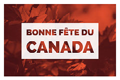 Red and White Canada Day Facebook Banner Autumn