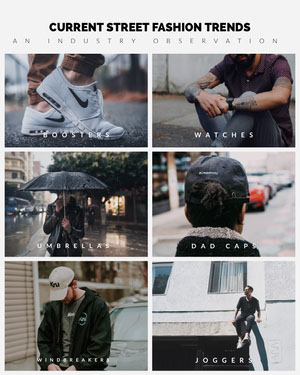 Grey and White Collage Fashion Observation Instagram Portrait Fashion Collage