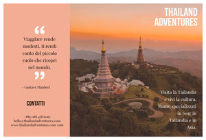 Thailand adventures travel brochures  Pagina Web