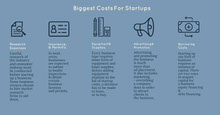 Blue Illustrated Startup Business Infographic Infografica