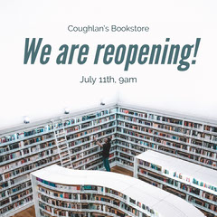 White Bookstore Reopening Instagram Square Shopping