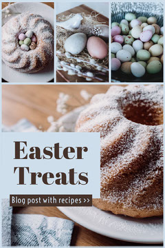 Blue and Brown Easter Treats Recipes Pinterest Easter
