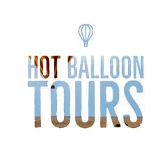 Blue and White Balloon Tours Social Post Balloon