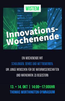 innovation wedding event poster  Poster