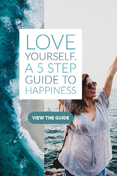 Love Yourself.  A 5 step guide to happiness Pinterest