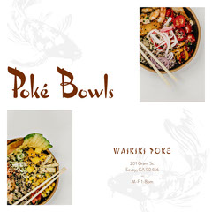 Poké Bowls Fish