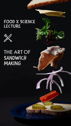SANDWICH MAKING Food