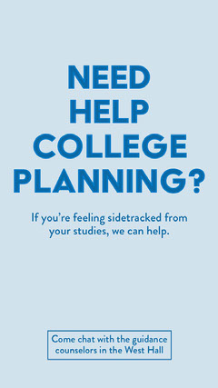 Need help college planning? Tutor Flyer