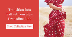 Red and Warm Toned Shop Collection Facebook Banner Dress