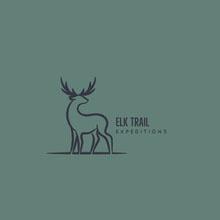 Elk Trail Logo