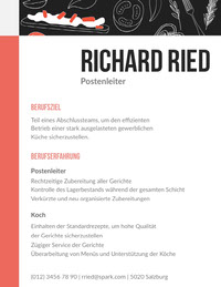 Richard Ried candidatures