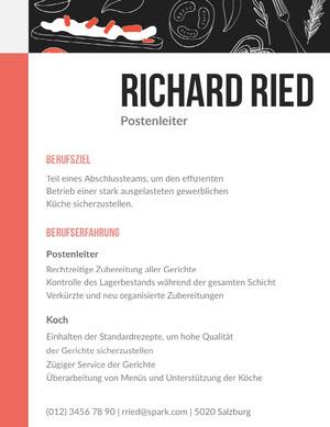 Richard Ried Lebenslauf