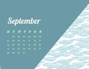 September Calendrier