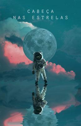 spacing out astronaut poster Panfletos