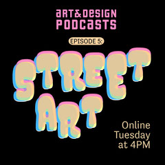 Pink and Yellow Neon Street Art Podcast Instagram Square Art