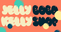 Red, White and Black Bulky Jelly Shop Ad Facebook Banner Shopping