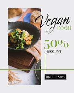 vegan food Instagram portrait Vegan