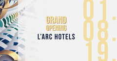 Yellow and Blue Grand Opening Promotion Grand Opening Flyer