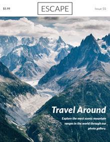 Travel Around Magazine Cover