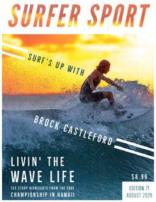 Surfer Sport  Magazine Cover