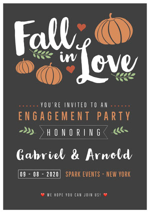 Love Einladung zur Verlobung