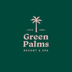 Green & Pink Resort & Spa Logo Spa