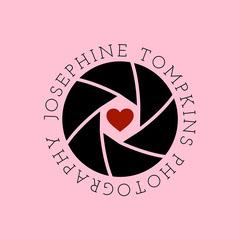 pink wedding photography logo Photography