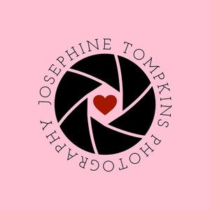 pink wedding photography logo Logo Maker for Instagram