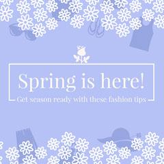 Spring is here! Seasonal