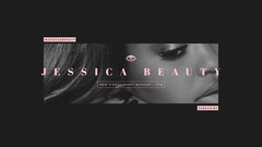 Jessica Beauty YouTube Channel Art Makeup