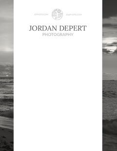 Black and White Photography Service Letterhead Service