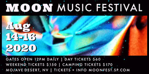 Black White and Blue Moon Music Festival Eventbrite Banner Music Banner