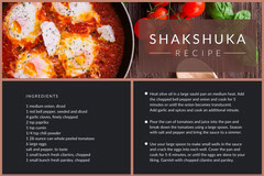 Black Shakshuka Recipe Card Recipes