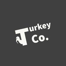 Black and White Company Logo Logo