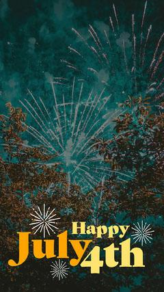 Yellow Text Fireworks Snapchat Geo Filter Fireworks