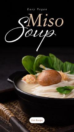 miso soup instagram story Ramen