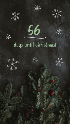 Days Until Christmas Countdown Instagram Story Christmas Party