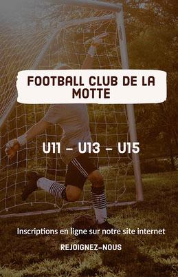 White - Football Club Poster  Prospectus