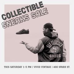 Violet and Black Shoes Sale Flyer Instagram Flyer