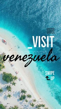Venezuela Instagram Story Beach