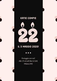Katie compie  Invito