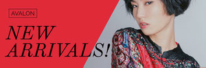 Red Clothing Store Banner Ad with Fashion Model Banneri