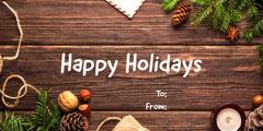 Happy Holidays Holiday