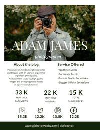 ADAM JAMES  Small Business