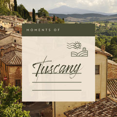 Light Toned Tuscany Travel Ad Instagram Post  Italy