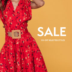 sale instagram  Dress