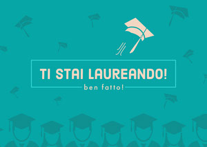 you're graduating congratulations cards Biglietto di congratulazioni