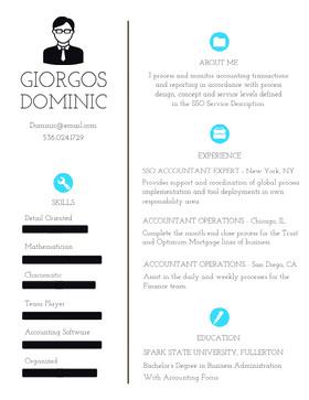 GIORGOS<BR>DOMINIC Currículum creativo