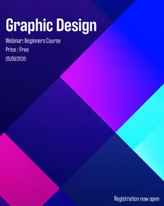 Graphic Design Webinar Instagram Square  Designer